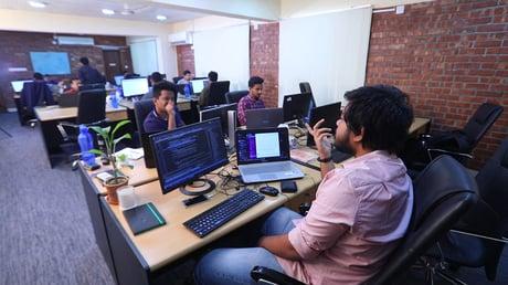 Cefalos utviklere i Dhaka, Bangladesh.
