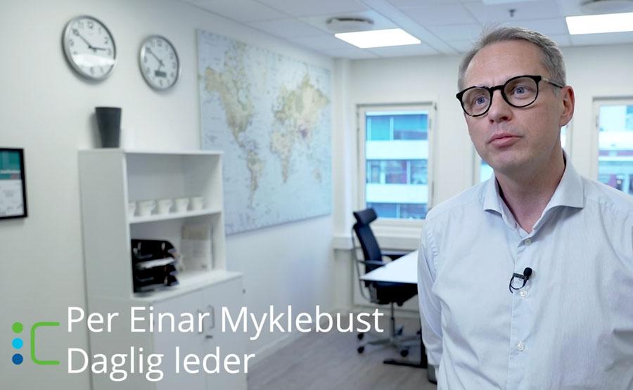 Per Einar Myklebust Cefalo ekstern utvikling